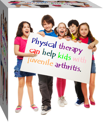 Children with physical therapy sign
